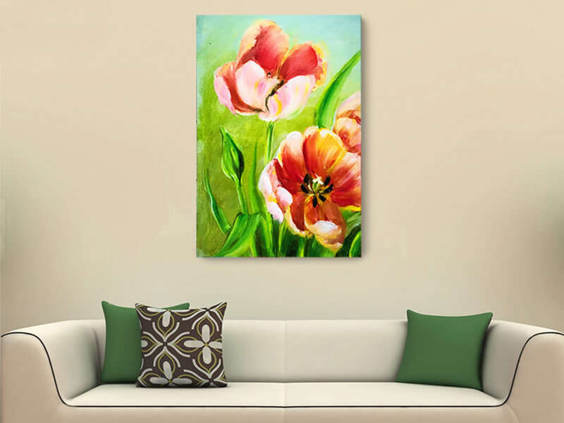 Popular Lacquer Canvas Wall Art With Hand Painted Emblishment And Glass Coating, Great For Wall Decoration Hot Sell Items