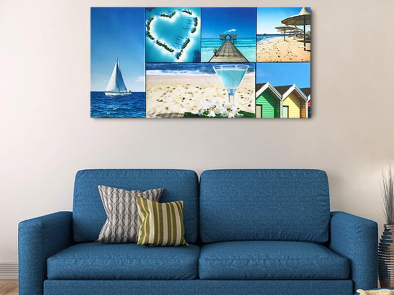 Beautiful Sea Landscape Six Canvas Art Set For Wall Decoration