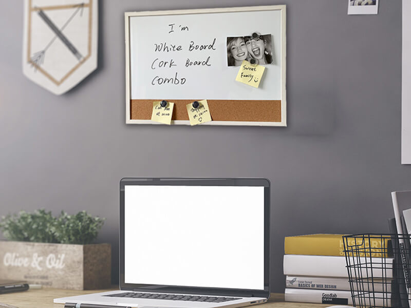 White Board &Cork Board Combo