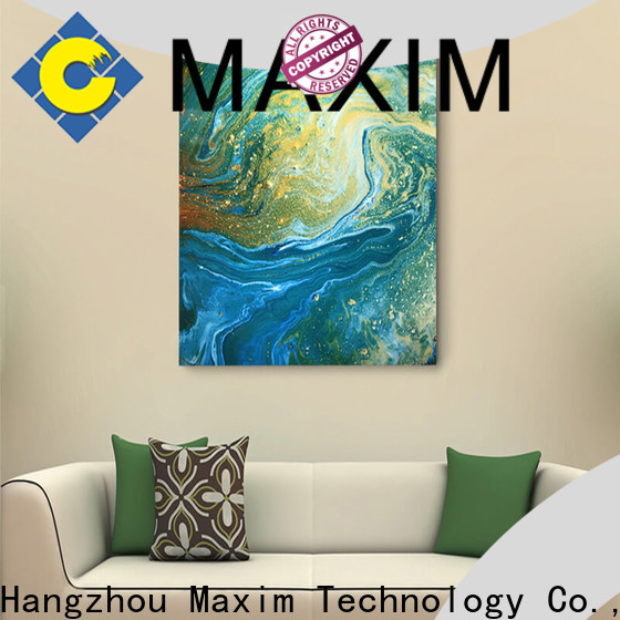Maxim Wall Art creative hotel room decoration wholesale for bathroom