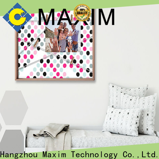 Maxim Wall Art top quality magnetic notice board design for shop