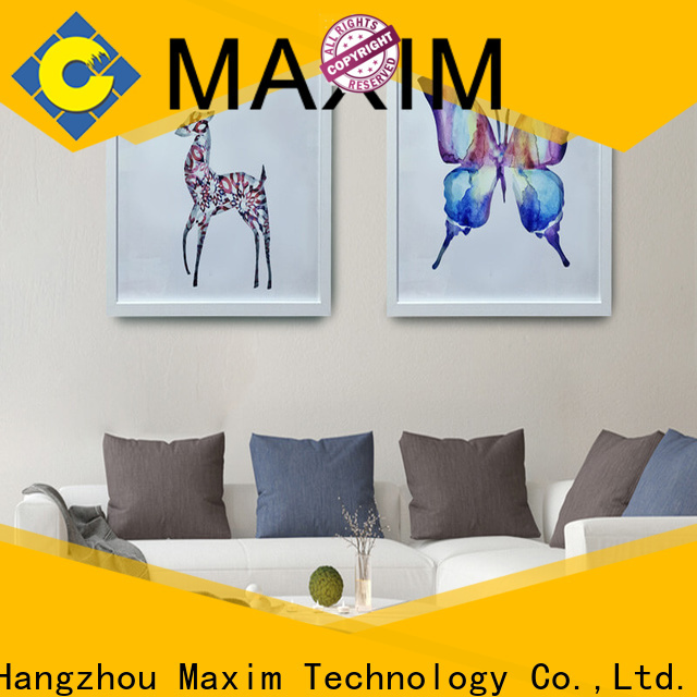 Maxim Wall Art gold framed wall art manufacturer for office