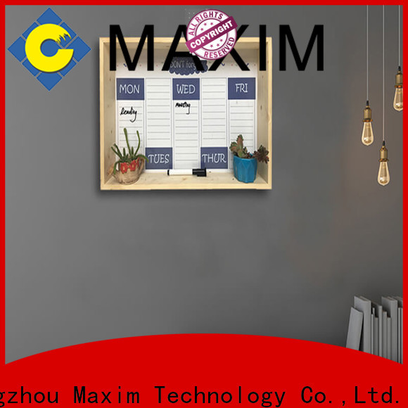 Maxim Wall Art good quality cork board wall with good price for shop