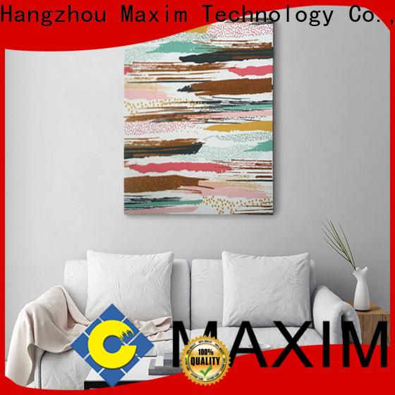 Maxim Wall Art long lasting bedroom canvas wholesale for living room