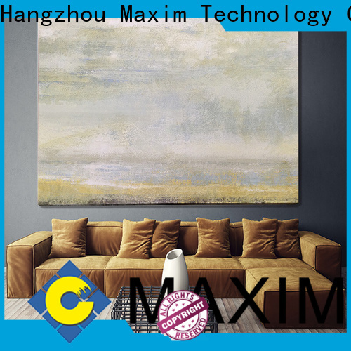 Maxim Wall Art popular canvas for living room factory price for living room