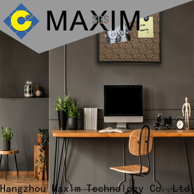 Maxim Wall Art colorful magic whiteboard from China for kitchen