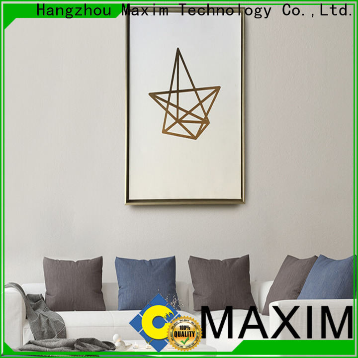 Maxim Wall Art quality black and white canvas art directly sale for office