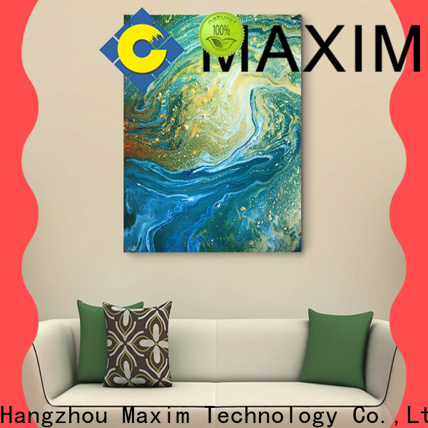 Maxim Wall Art gallery wrapped canvas wholesale for bedroom