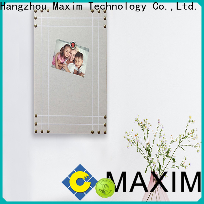 Maxim Wall Art beautiful magnetic chalkboard from China for bathroom