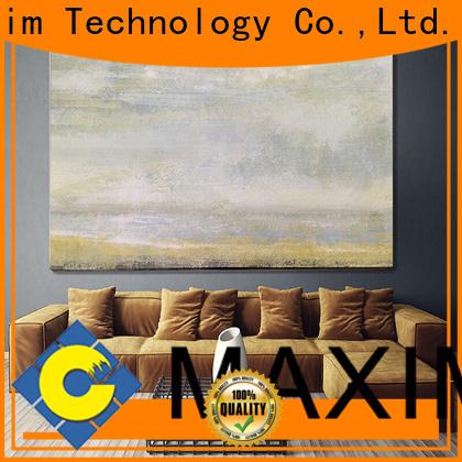 Maxim Wall Art hotel room decoration supplier for living room
