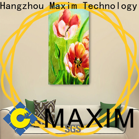 Maxim Wall Art long lasting canvas panel factory price for kitchen