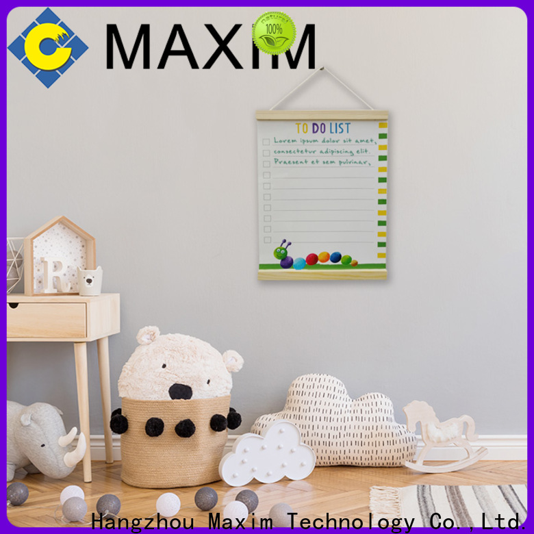 Maxim Wall Art magnetic notice board factory for shop