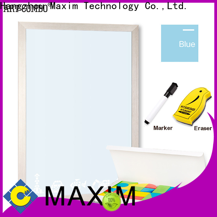 Maxim Wall Art kids white board manufacturer for kitchen