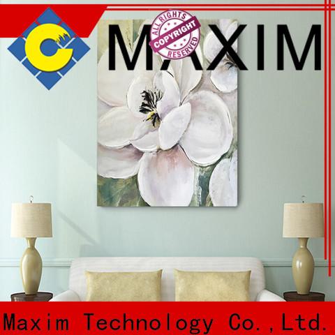 Maxim Wall Art elegant bedroom canvas factory price for bedroom