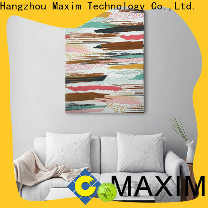 Maxim Wall Art elegant large wall pictures supplier for living room