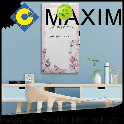 Maxim Wall Art top quality magnetic notice board factory for shop