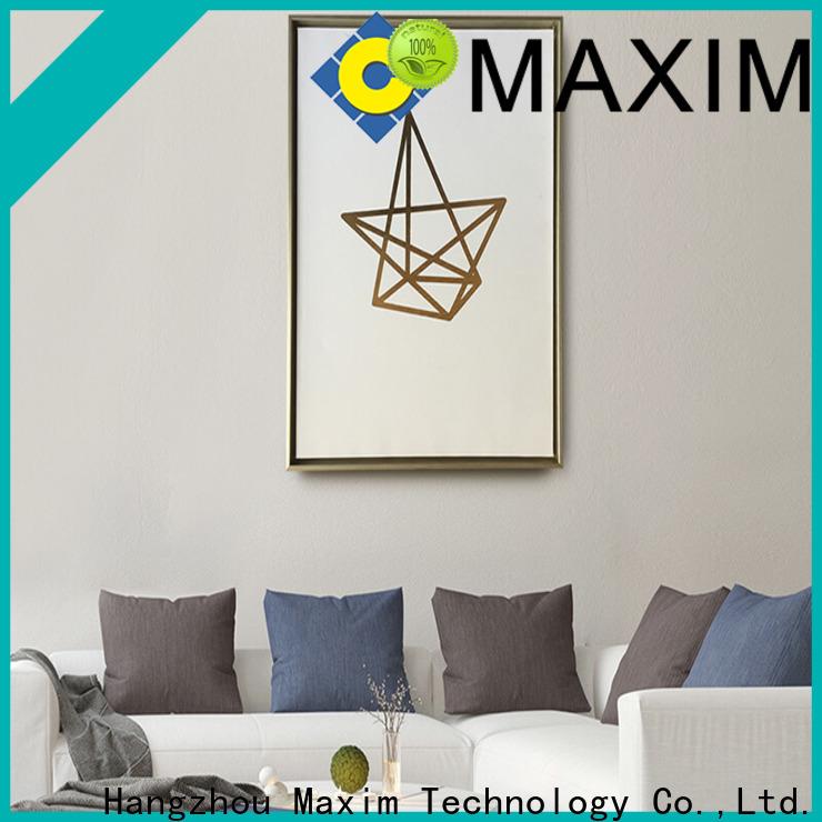 Maxim Wall Art black and white framed art manufacturer for restroom