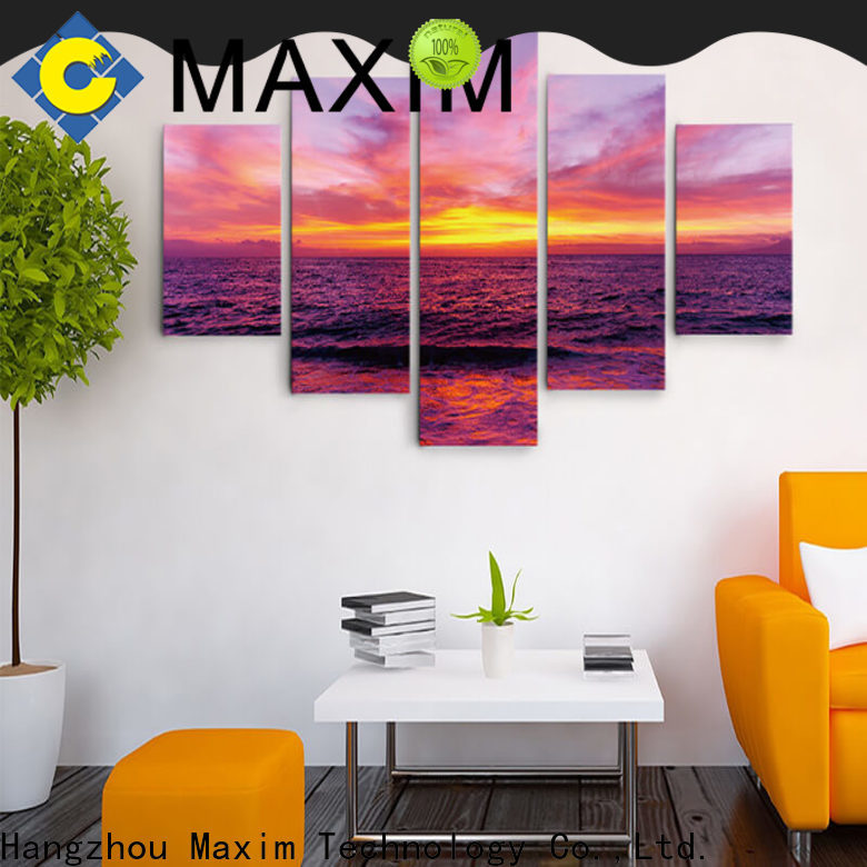 Maxim Wall Art popular gallery wrapped canvas supplier for bedroom