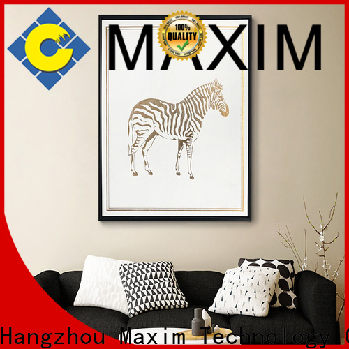 quality large framed wall art supplier for studio