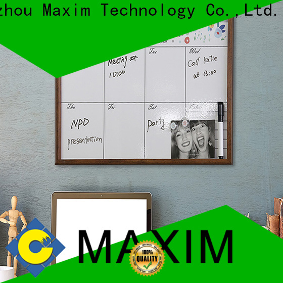 Maxim Wall Art colorful magnetic notice board design for home