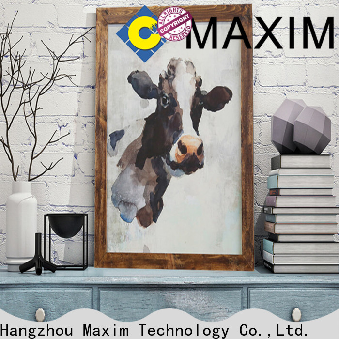 professional large art prints supplier for office