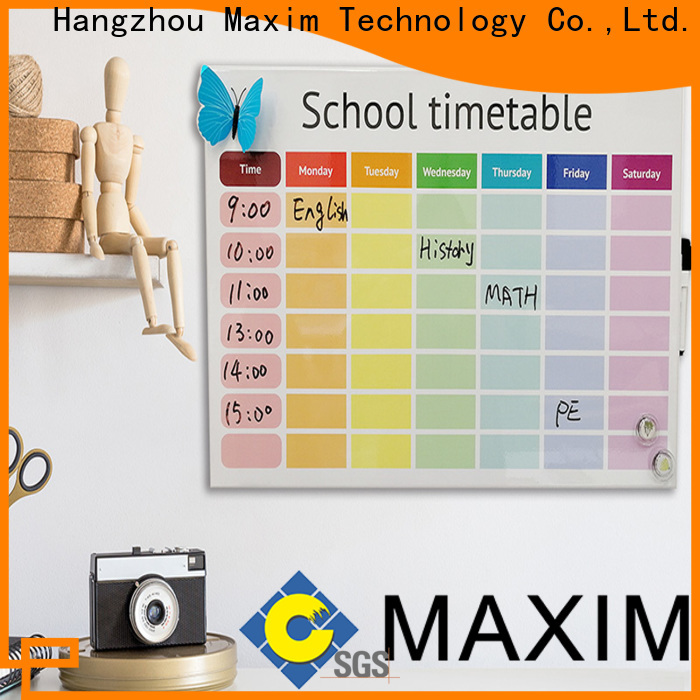 Maxim Wall Art magnetic memo board with good price for home