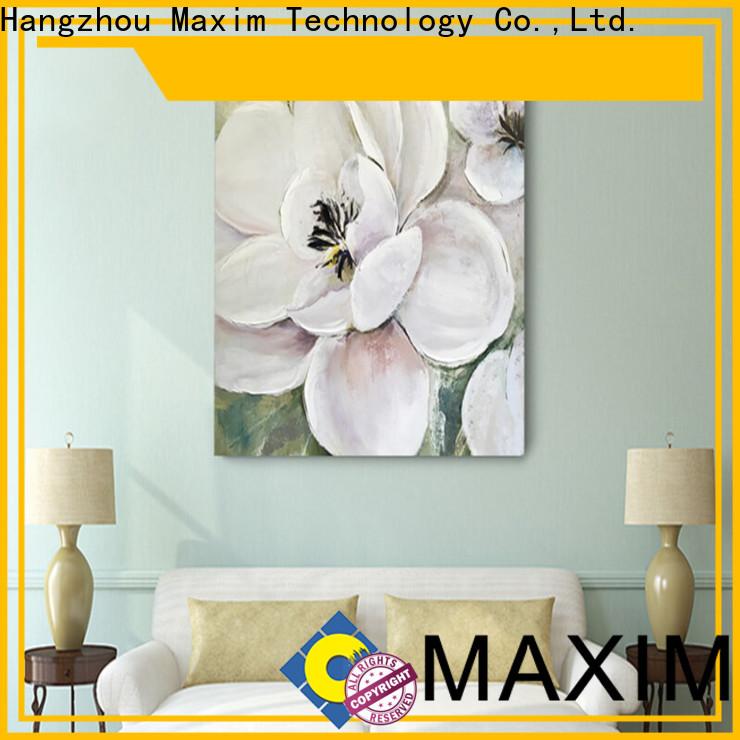 Maxim Wall Art Custom framed canvas wall art supplier