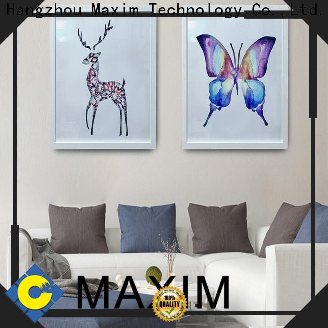 Maxim Wall Art Custom cheap framed art manufacturer