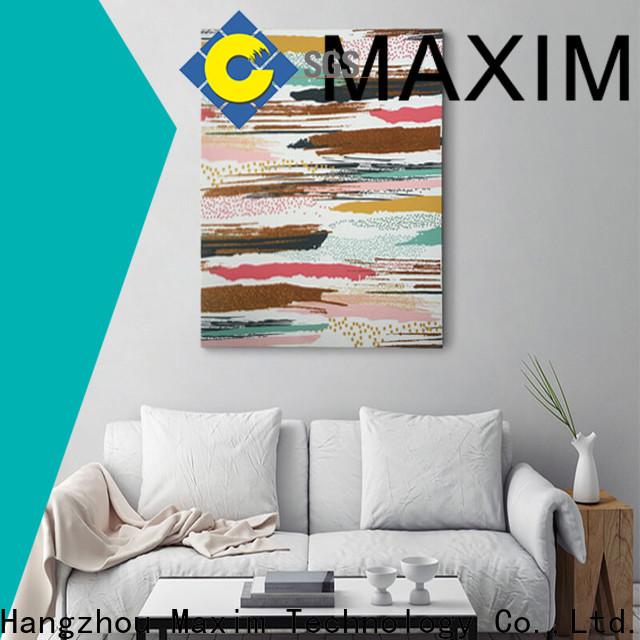 Maxim Wall Art Custom framed canvas wall art supply
