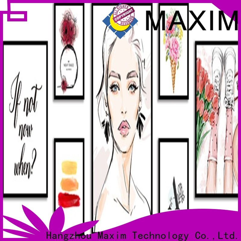 Maxim Wall Art framed art supplier